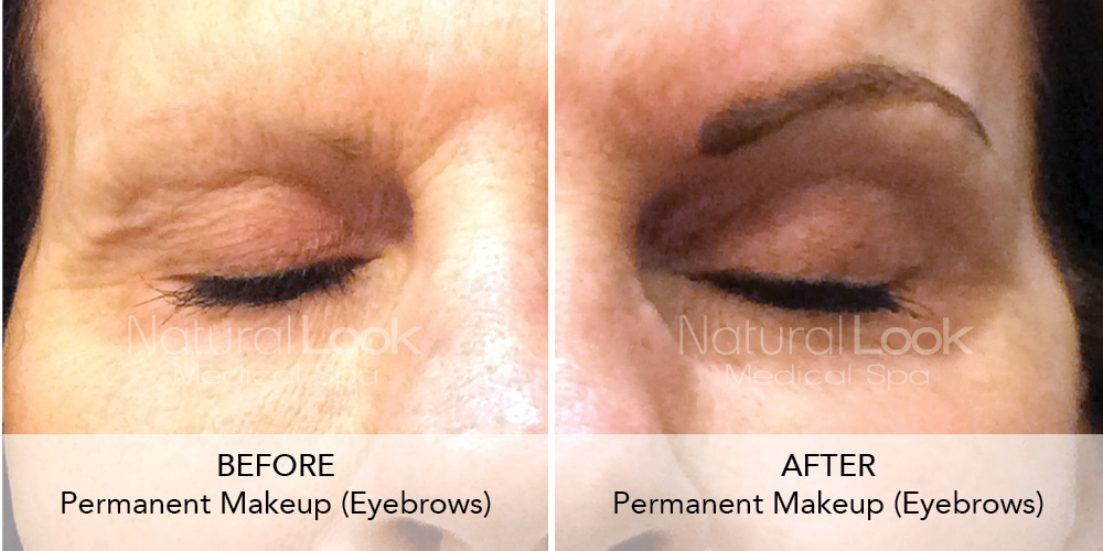 Permanent Makeup Natural Look Client before after photo50